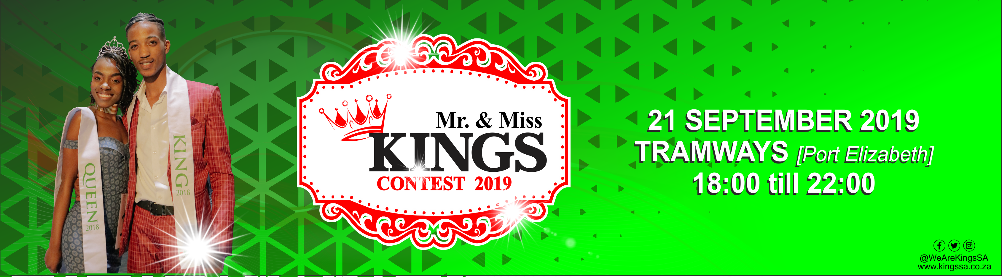 Kings sa   mr miss kings sa 2019  vote banner